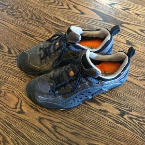 Merrell Intercept Gore-Tex coffee hiking shoe